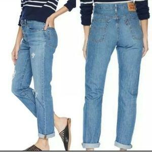 Levi's 501 High Waist Crop Jeans size 32x26